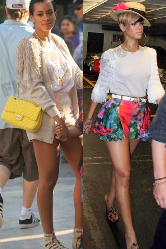 Rihanna Style Fashion Show
